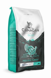 Canagan  Cat DENTAL FREE RUN TURKEY- 0,375 kg