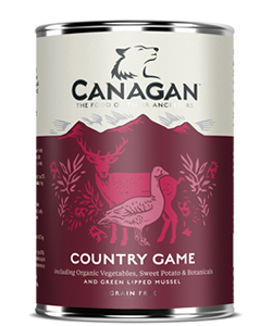 Canagan Can COUNTRY GAME - dla psów -0,4kg