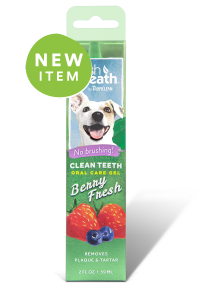 TropiClean -Berry Fresh- Żel do higieny jamy ustnej, dla psów - Clean Teeth Oral Care Gel - 59ml