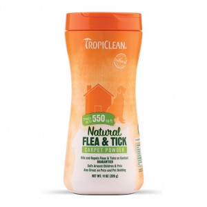 Tropiclean - Natural Flea & Tick Carpet Powder - 0,325kg