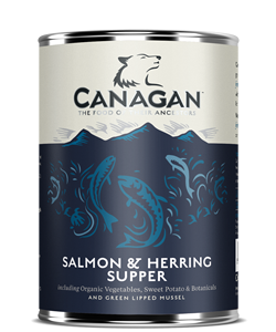 Canagan Can SALMON & HERRING SUPPER dla psów 0,400kg
